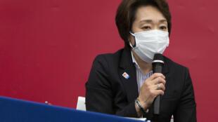 La ministra japonesa de los Juegos Olímpicos, Seiko Hashimoto, de 56 años y nombrada este jueves presidenta del comité de organización de los Juegos de Tokio-2020, el 18 de febrero de 2021 en Tokio