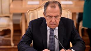 - وزير الخارجية الروسي سيرغي لافروف