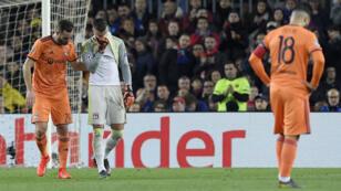 Les Lyonnais n'ont rien pu faire face au Barça.