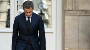 Nicolas Sarkozy était entendu depuis mardi 20 mars dans les locaux de l'office anticorruption à Nanterre près de Paris.