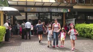 Au lycée Pasteur de Sao Paulo, 30% des enfants ne sont ni français ni francophones d'origine.