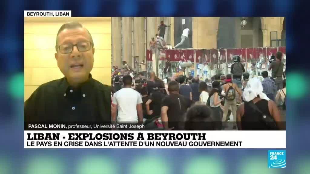 """2020-08-11 18:00 LIBAN: """"L'essentiel pour le nouveau gouvernement c'est d'aller le plus vite possible"""""""