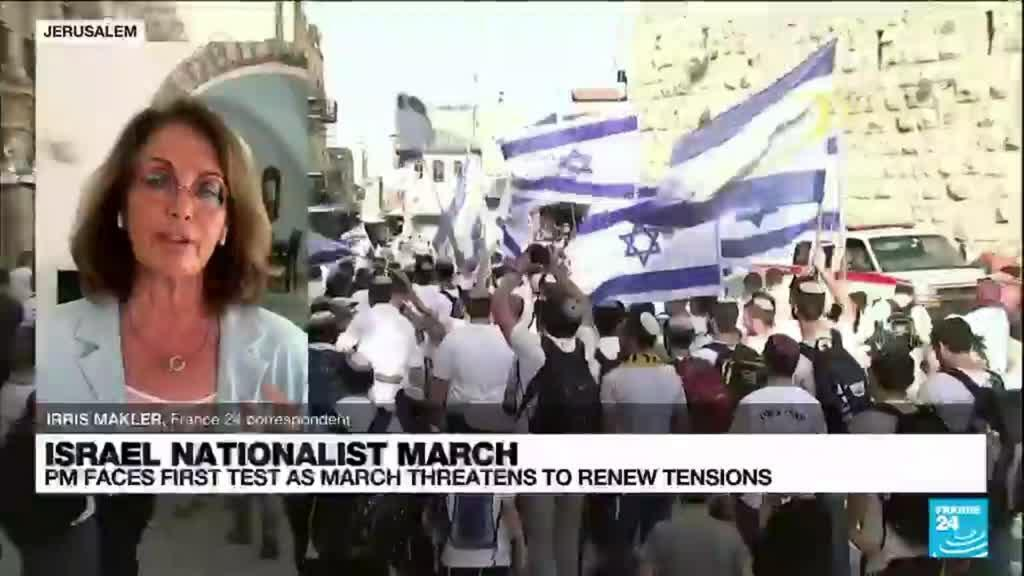 2021-06-15 10:06 New Israel govt faces early test with far-right march