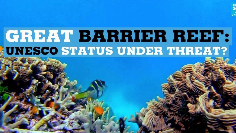 Great Barrier Reef Unesco Status Under Threat