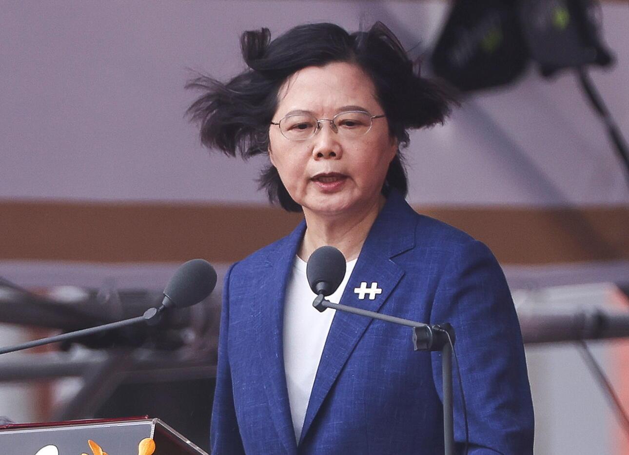 TAIWAN PRESIDENT TSA ING-WEN