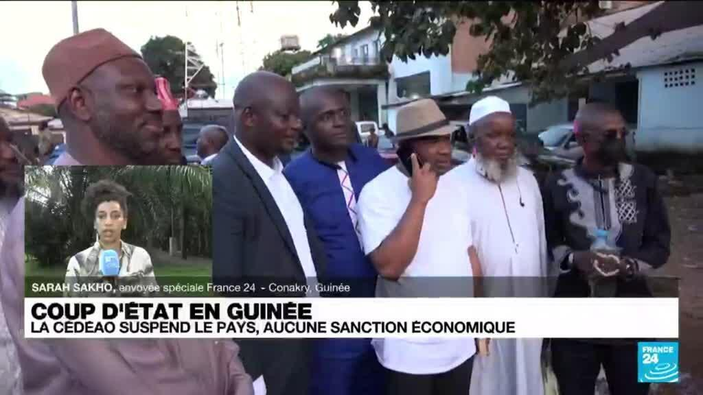 """2021-09-09 10:03 Coup d'État en Guinée : les Guinéens """"sont entre espoir et prudence"""""""
