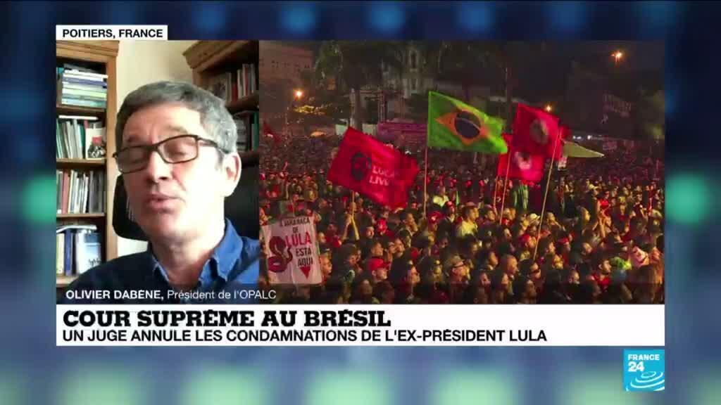 2021-03-09 14:01 Brésil : annulation des condamnations de Lula, une décision politique ou judiciaire ?