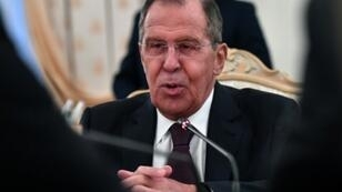 """Russian Foreign Minister Sergei Lavrov suggested the """"provocation"""" had """"direct public support"""" from Washington"""