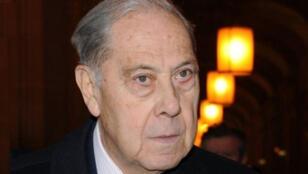 L'ex-ministre français de l'Intérieur Charles Pasqua