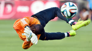 Le gardien ivoirien, Copa Barry, héros de la Côte d'Ivoire lors de la CAN-2015.