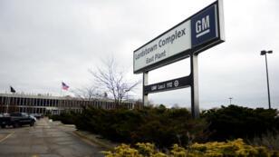 Le site d'assemblage de véhicules de General Motors de Warren, dans l'Ohio, le 26 novembre 2018.