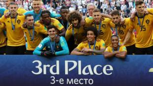 Bélgica le ganó a Inglaterra y se quedó con el tercer lugar en el Mundial.