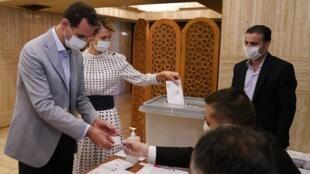 Syrie Assad vote élection