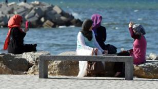 Des femmes à Alger en mai 2014