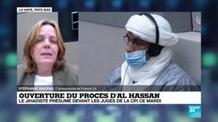 2020-07-14 15:12 Ouverture du procès d'Al Hassan : le djihadiste présumé devant les juges de la CPI