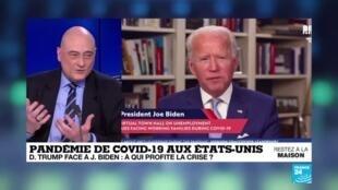 2020-04-09 16:10 Covid-19 aux États-Unis : Trump face à Biden, à qui profite la crise ?