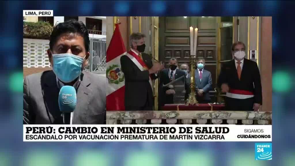 2021-02-13 18:08 Informe desde Lima: Óscar Ugarte juramentó como nuevo ministro de salud de Perú