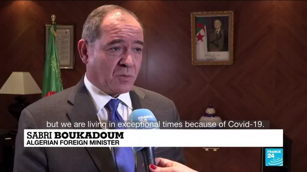 2021-02-22 08:13 Algerian president reshuffles govt on eve of protest movement anniversary