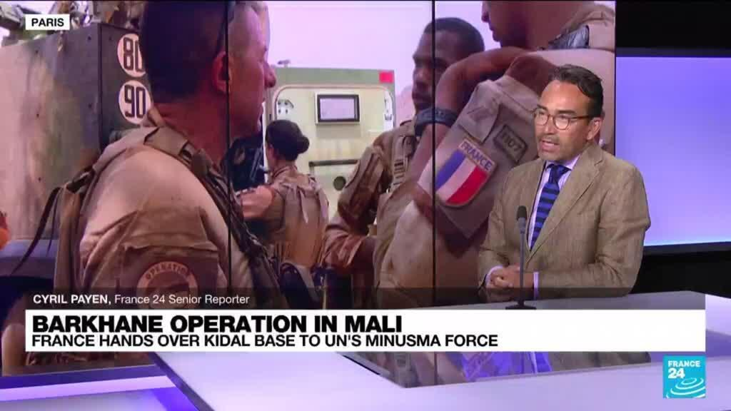 2021-10-13 14:16 Barkhane operation in Mali: France hands over Kidal base to UN's Minusma forces