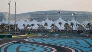 Le circuit de Formule 1 d'Abu Dhabi.