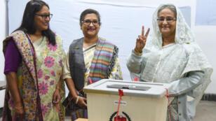 La Première ministre bangladaise Sheikh Hasina a toutes les chances de remporter une large victoire aux élections du 30 décembre.