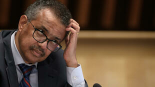 World Health Organization (WHO) Director-General Tedros Adhanom Ghebreyesus attends a press conference organised by the Geneva Association of United Nations Correspondents (ACANU) amid the COVID-19 outbreak, caused by the novel coronavirus at WHO headquarters in Geneva on July 3, 2020.