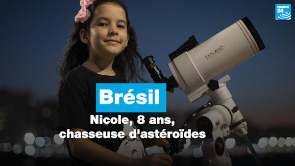 Brésil : Nicole, 8 ans, chasseuse d'astéroïdes