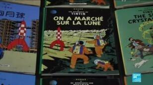Pilotage, apesanteur, moteur atomique, rien n'est négligé dans ce double album de Tintin paru plus de 15 ans avant la mission Apollo 11.