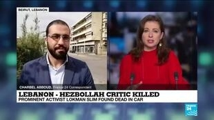 2021-02-04 12:07 Prominent Lebanese Hezbollah critic found killed in his car