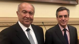 Photo publiée sur Twitter sur le compte du miliardaire libanais Fouad Makhzoumi.