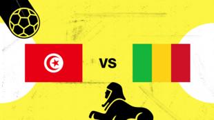 يسعى المنتخب التونسي لتعزيز فرصه في بلوغ الدور الثاني بالفوز على مالي.