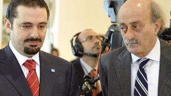 Saad Hariri et Walid Joumblatt