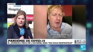 2020-04-07 11:10 Pandémie de Covid-19 : Boris Johnson a reçu de l'oxygène, le Royaume-Uni s'inquiète