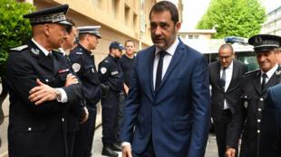 Le ministre de l'Intérieur Christophe Castaner, à Toulon, le 3 mai 2019.