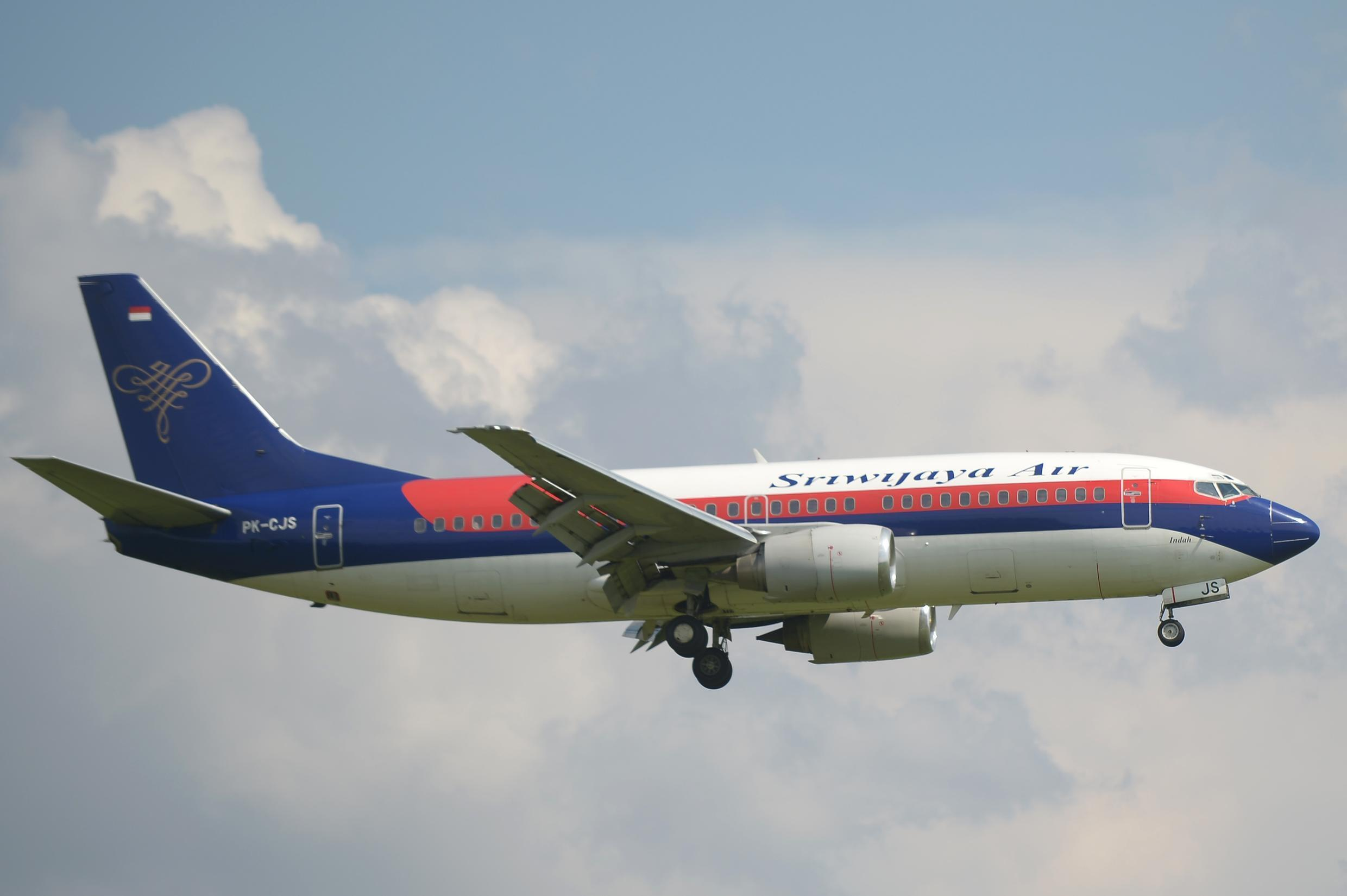 The Boeing 737-500 operated by Sriwijaya Air disappeared from radar screens shortly after take-off.