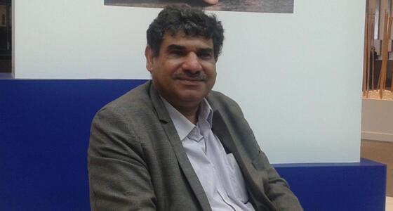 الشاعر العراقي كاظم جهاد