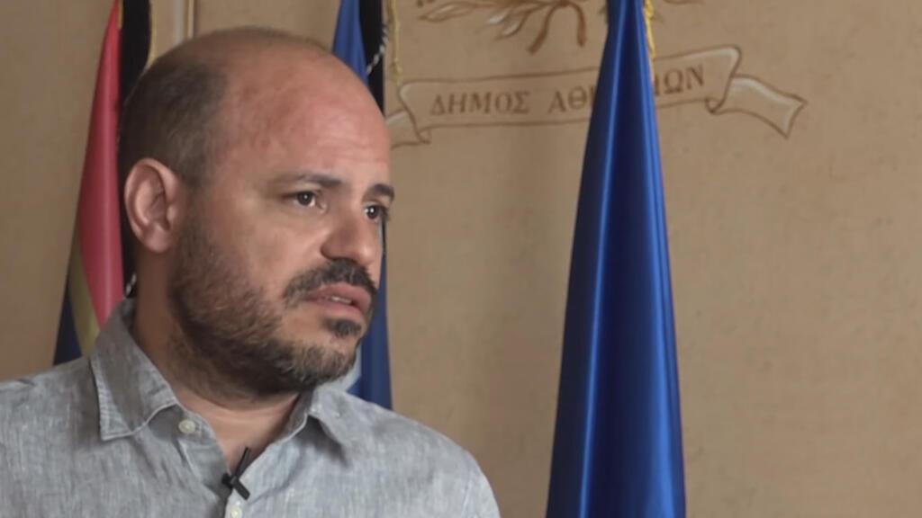 Lefteris Papagiannakis es el vicealcalde de Atenas.