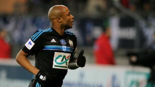 Le Ghanéen André Ayew, joueur clé de l'Olympique de Marseille