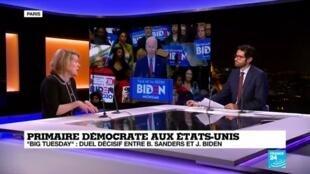 2020-03-10 21:15 Le résultat du duel entre Biden et Sanders devient-il prévisible ?