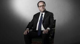 Photo de François Hollande prise au palais de l'Elysée, le 11 mai 2017.