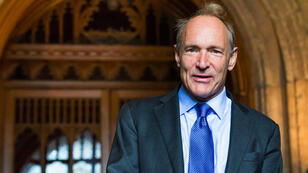 Tim Berners-Lee, le papa du Web.
