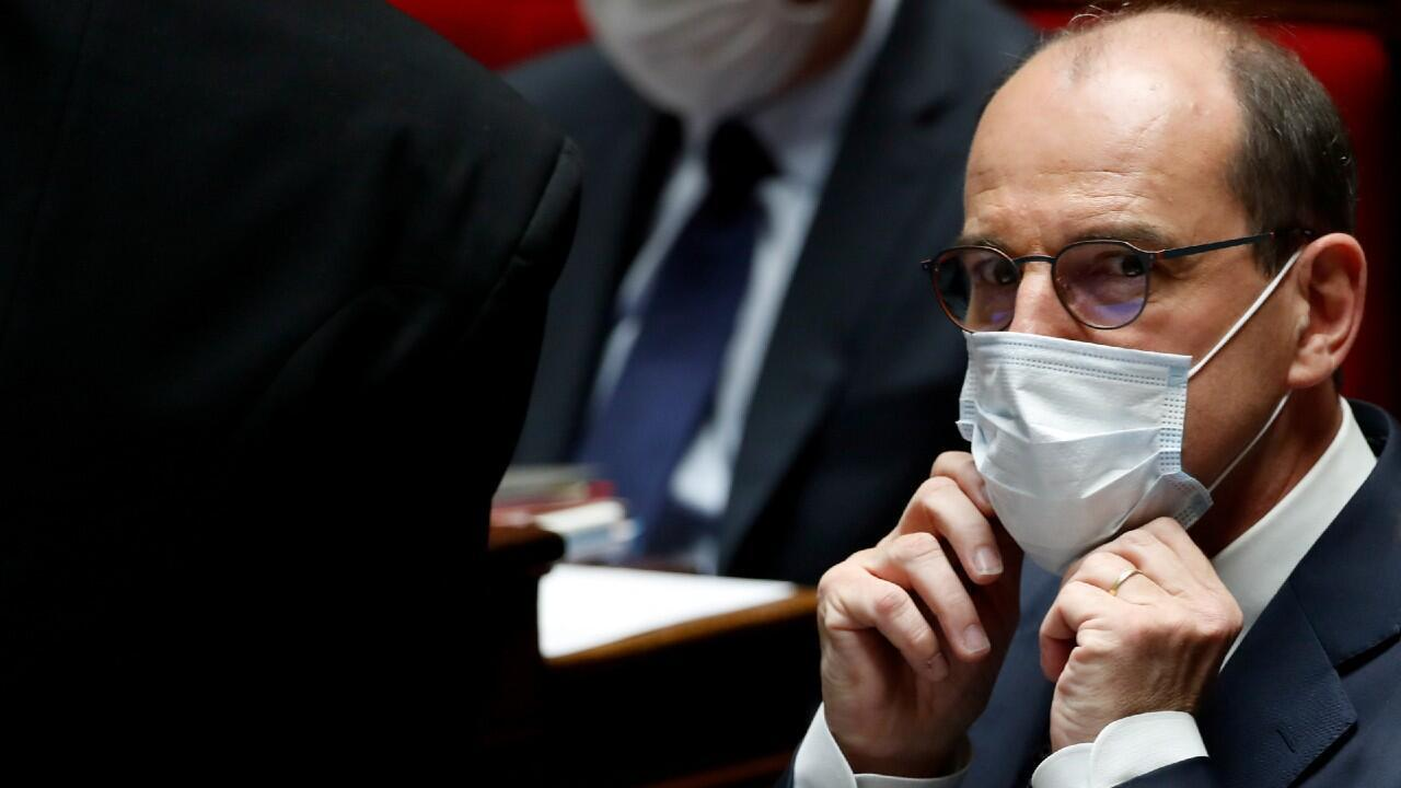 El nuevo primer ministro francés, Jean Castex, aparece en esta imagen tomada en la Asamblea Nacional francesa. En París, Francia, el 8 de julio de 2020.