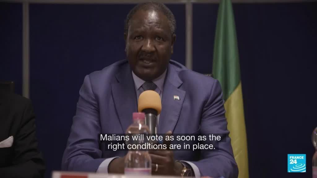 2021-10-25 08:05 Mali tells UN it will confirm post-coup election date in December