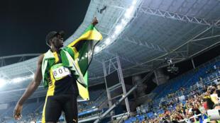 Usain Bolt a réussi à un troisième triplé consécutif aux JO sur les disciplines reines du sprint.