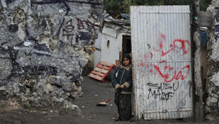 Camp rom à Montreuil (Archive)