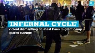 vignette paris migrants