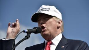 Le candidat républicain Trump lors d'un meeting, en Floride, le 12 octobre 2016.
