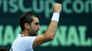 Impérial contre Richard Gasquet, le leader de l'équipe croate Marin Cilic a propulsé son pays en finale de la Coupe Davis.
