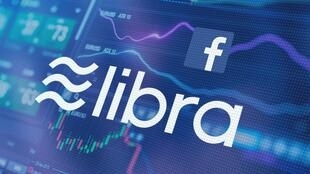 Illustration of Facebook's new Libra cryptocurrency