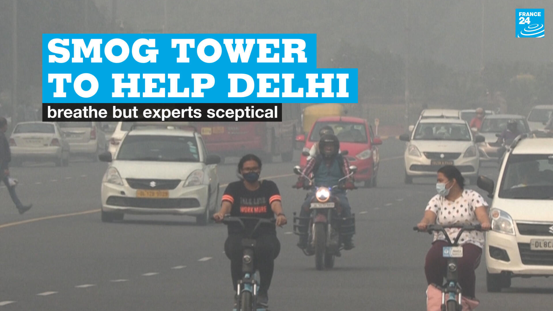 New Delhi, air pollution